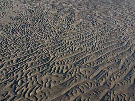 Patterns in the Sand (Dennis, MA) - photo by Trent P McDonald 12/28/13