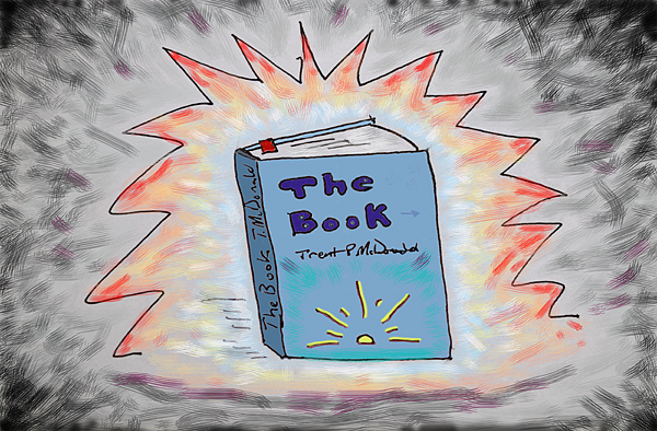 The Book - Drawing by Trent P McDonald