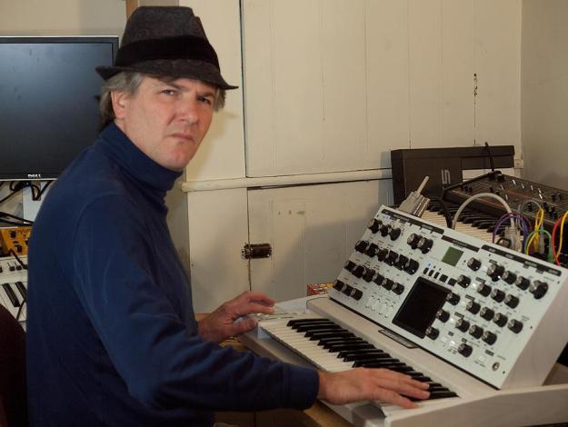 Trent's studio