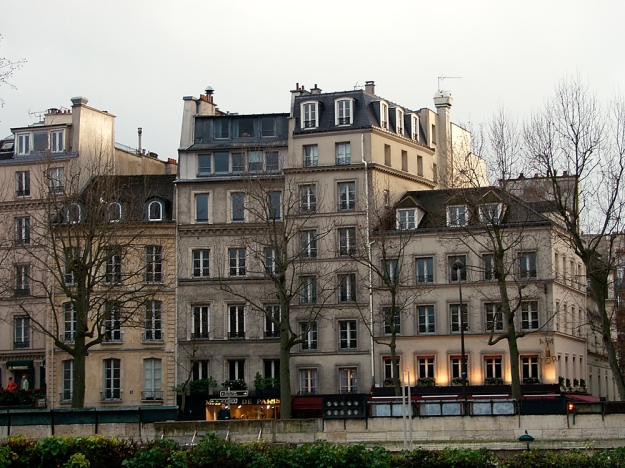 Buildings by the Seine - 2002