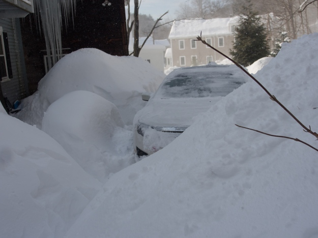 Car, House, Snow - Questions?