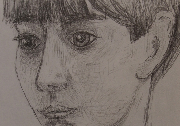 detail - boy portrait