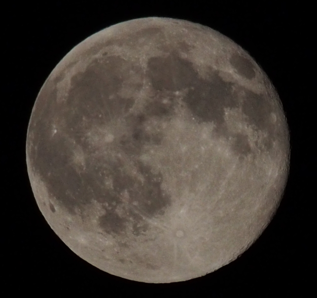 Blue Moon 31 July 2015