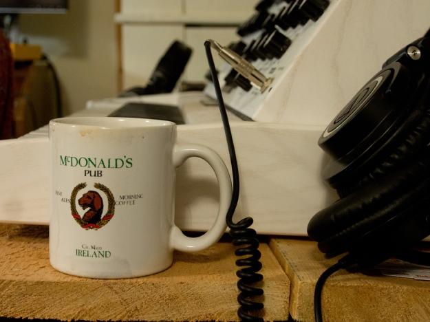 Moog and Morning Coffee