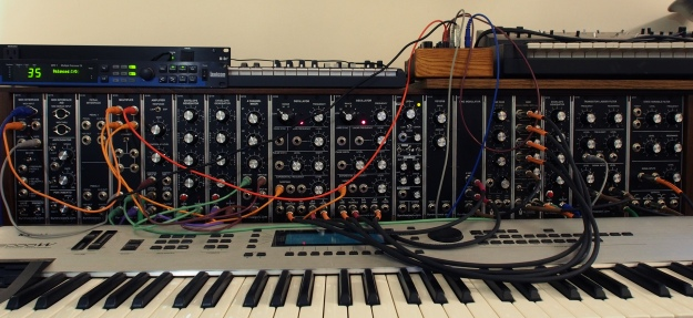 Modular Synth - Patched