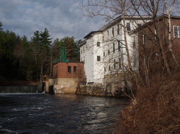 Wilton Mill and water fall
