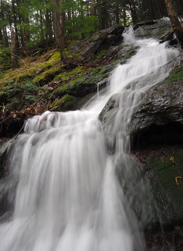 Falling water - side stream