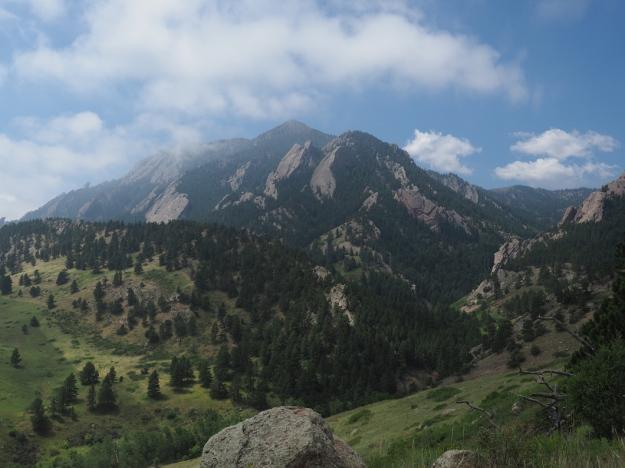 Fronat Range near boulder