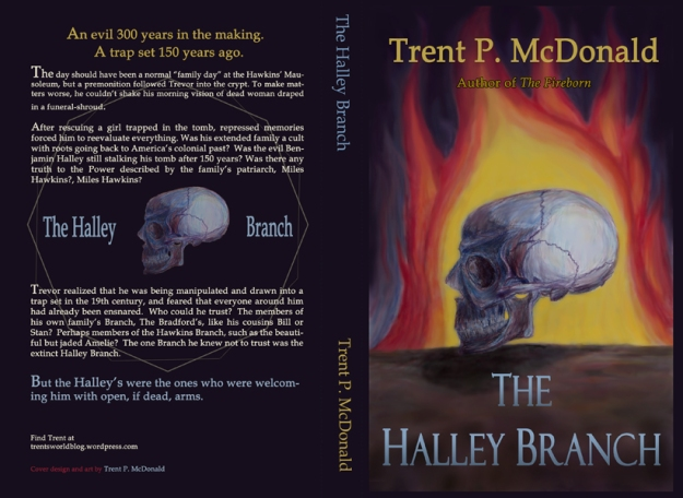 The Halley Branch Book Cover - Full