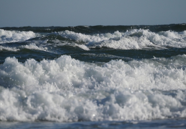 Surf on Mayflower Beach