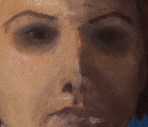 The Painting - close up