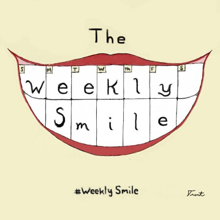 This image has an empty alt attribute; its file name is weeklysmile2b.jpg